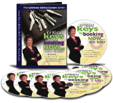 The Critical Keys to Booking NOW... Not Later